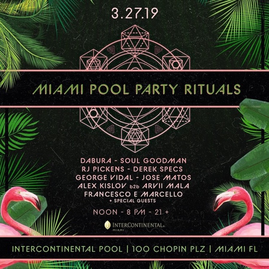 Miami Pool Party Rituals Image