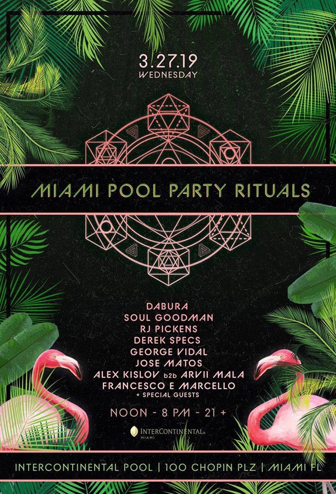Miami Pool Party Rituals Image