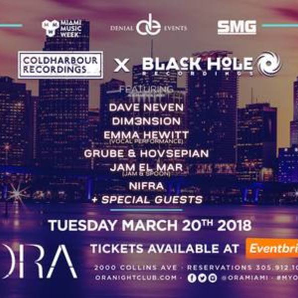 Coldharbour X Black Hole Recordings Showcase Image