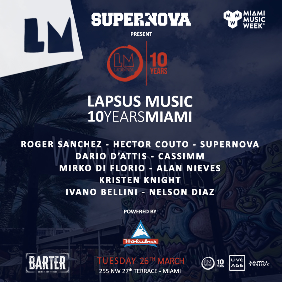 LAPSUS MUSIC 10 YEARS MIAMI Image