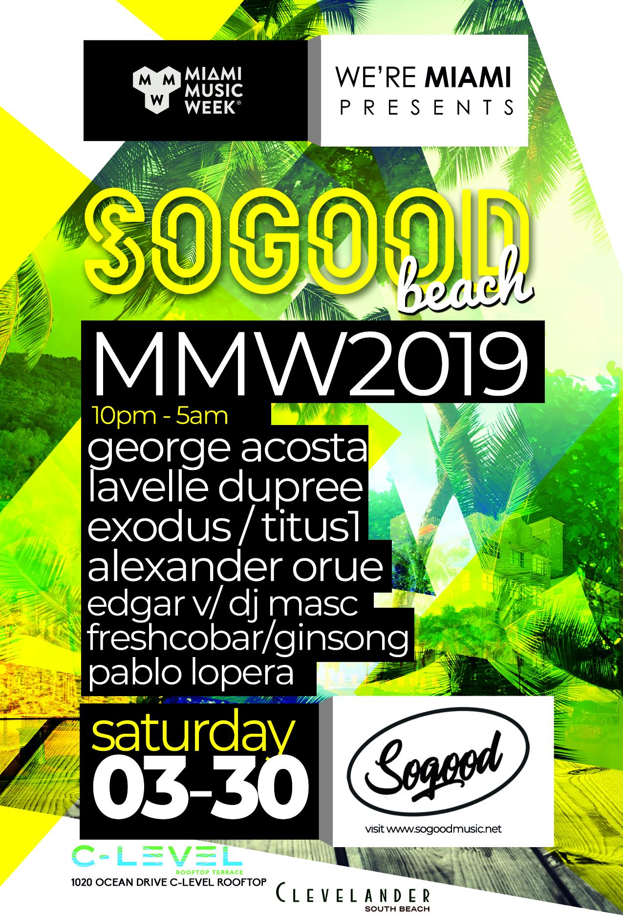 "George Acosta & Friends ""Sogood Beach"" Image"