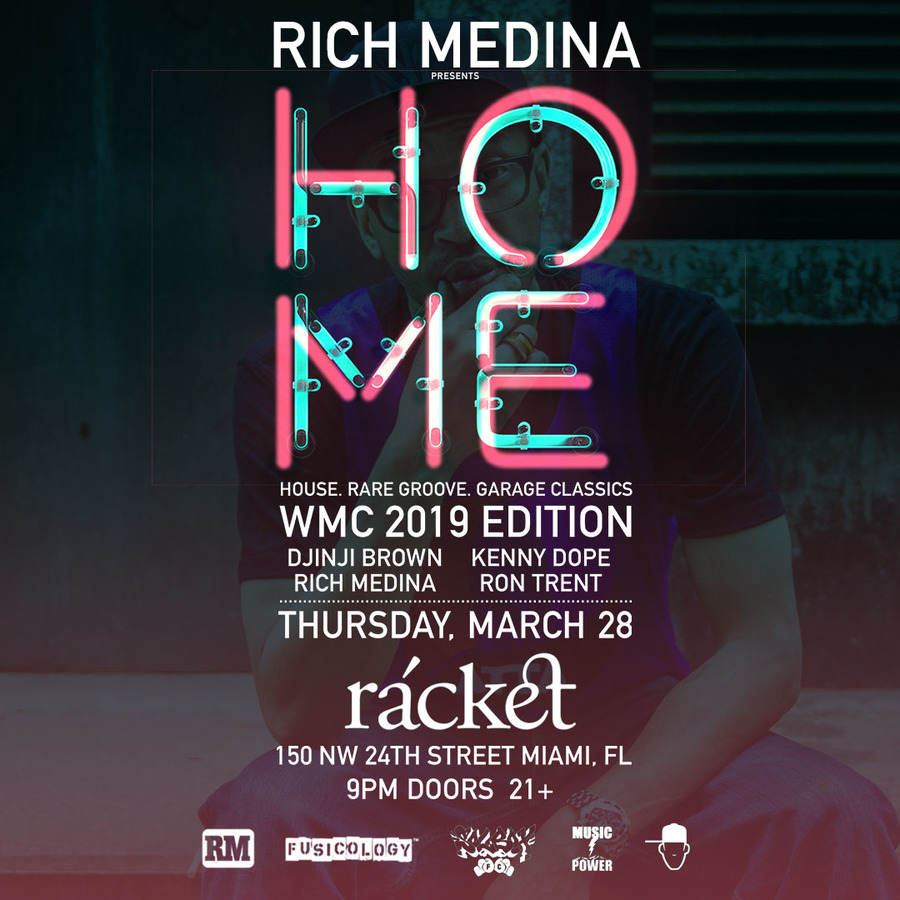 RICH MEDINA Presents HOME Image