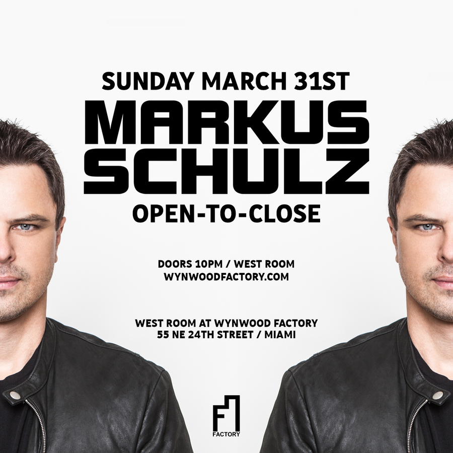 Markus Schulz Open-To-Close Image