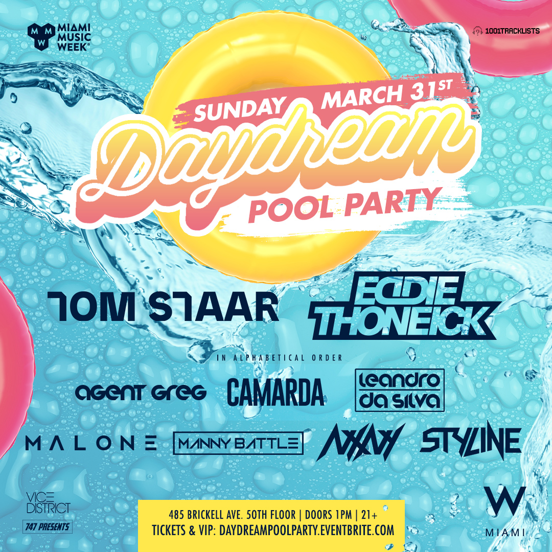 Daydream Rooftop Pool Party Image