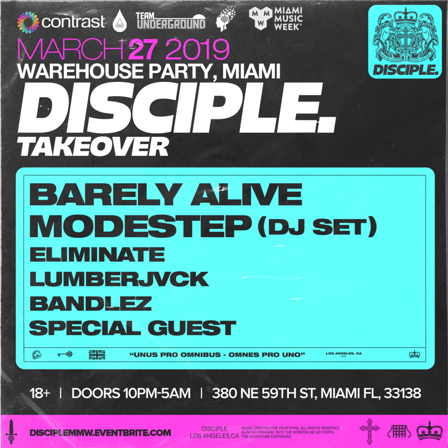 Disciple. Records Takeover Image