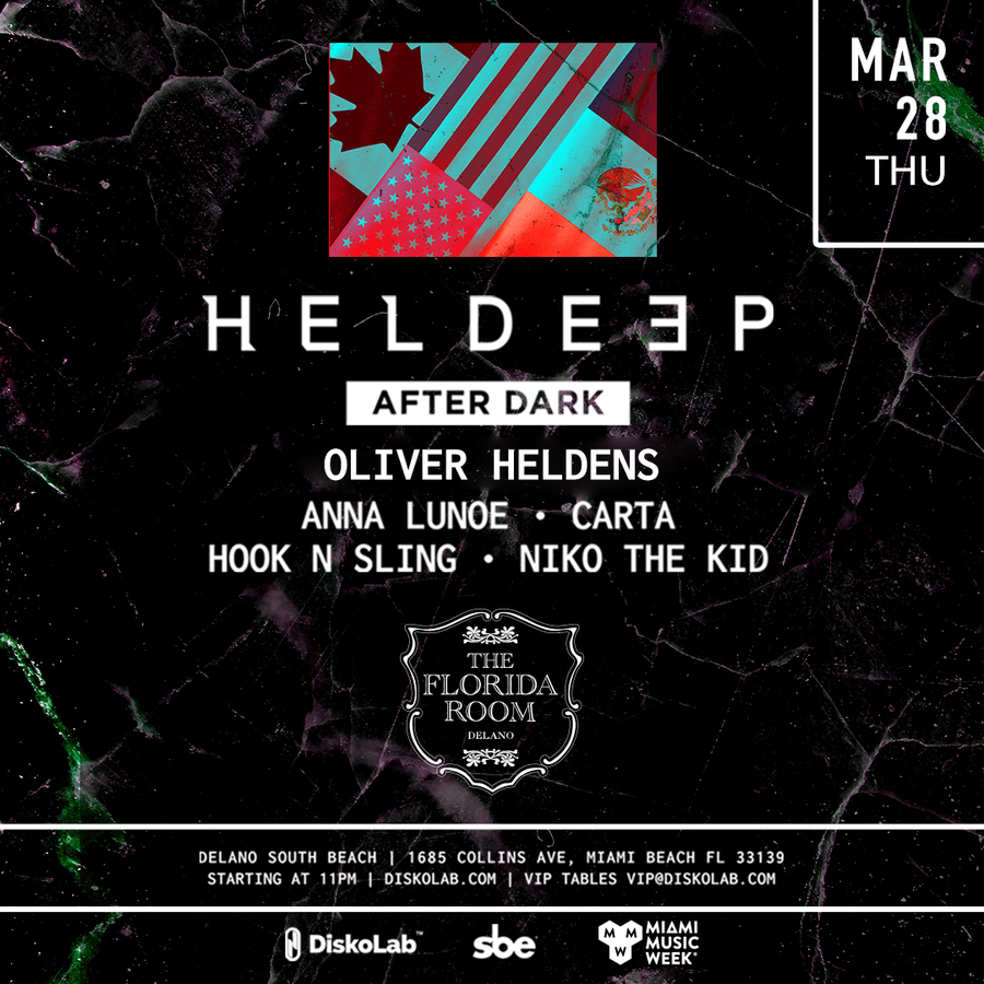 Oliver Heldens presents Heldeep After Dark Image