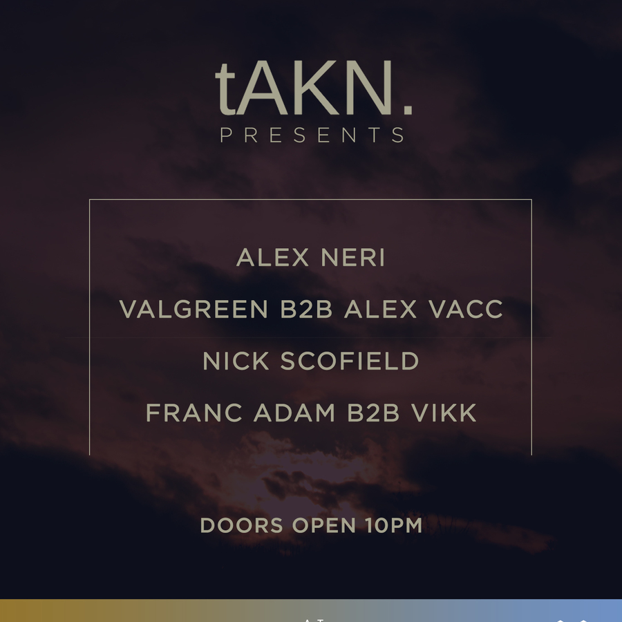tAKN. Presents Alex Neri Image