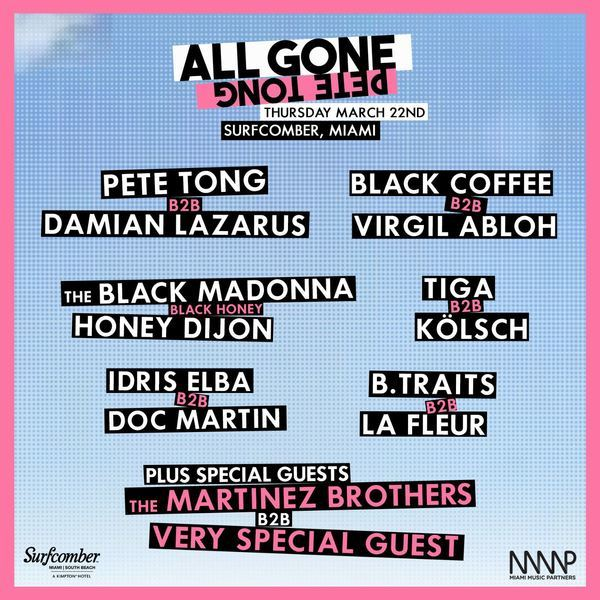 All Gone Pete Tong Image