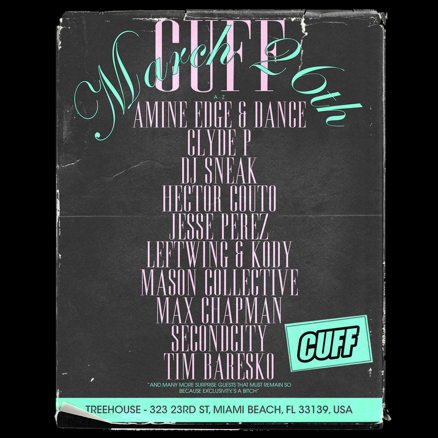 Amine Edge & Dance Presents CUFF  Image