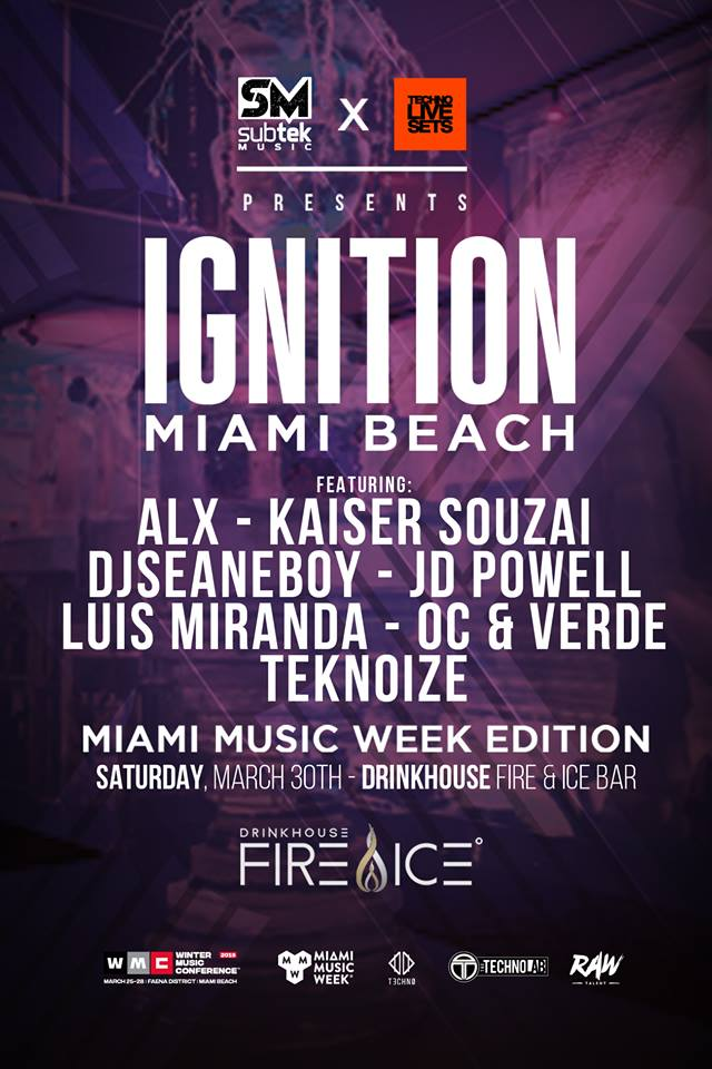 Ignition (MMW Edition) By Techno Live Sets & Subtek Image