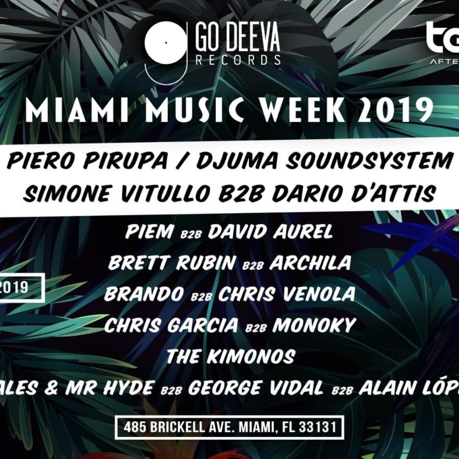 Go Deeva Records, DVINA & Terrace Afterhours - MMW19 Image