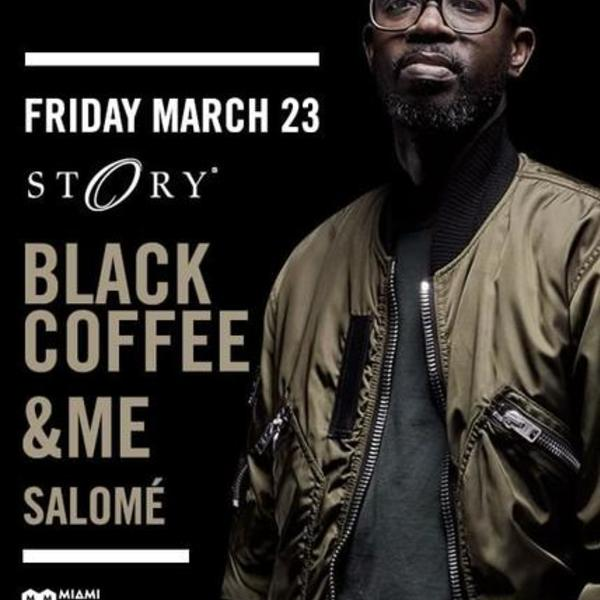 Black Coffee at STORY Image