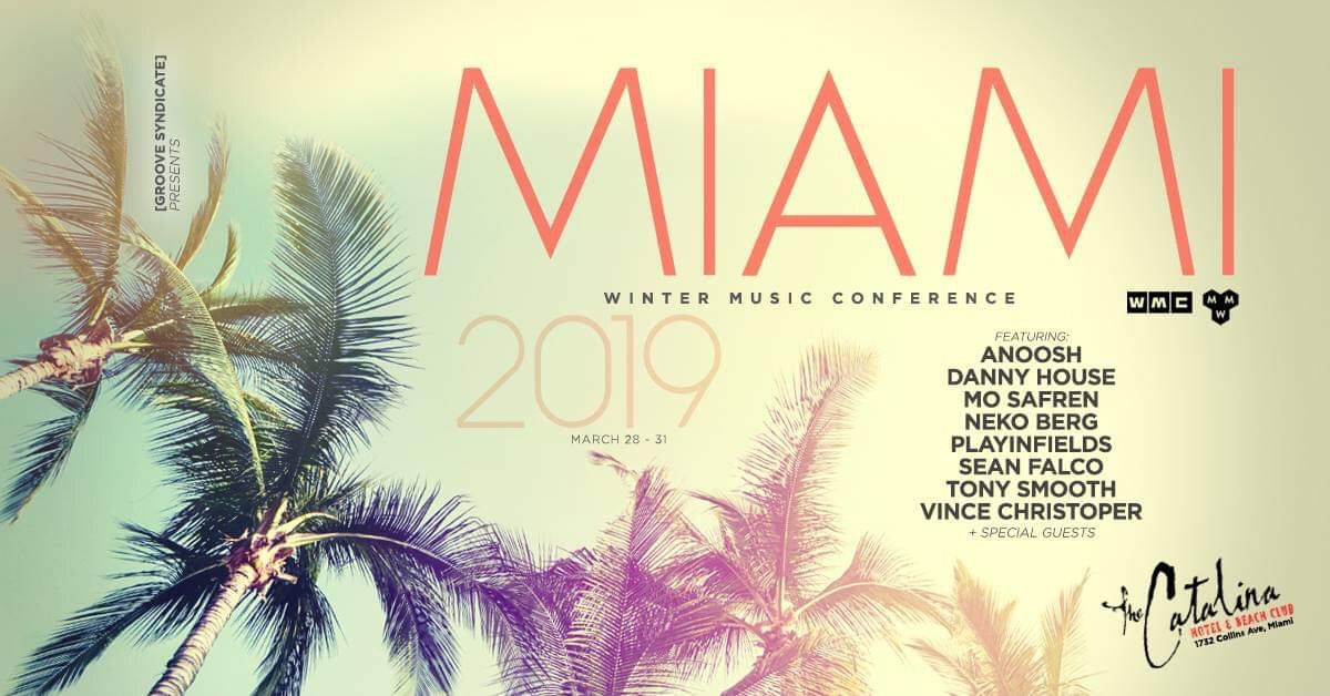 Miami Music Week Closing party @ Maxine's Bistro & Bar Image