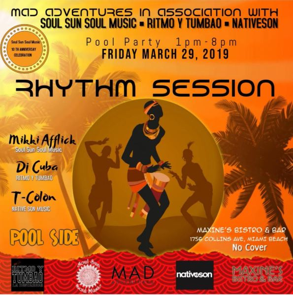 MAD adventures in Association with Soul Sun Soul Music, Ritmo & Tumbao and Nativeson Present 10 year anniversary Soul Sun Soul Music Image