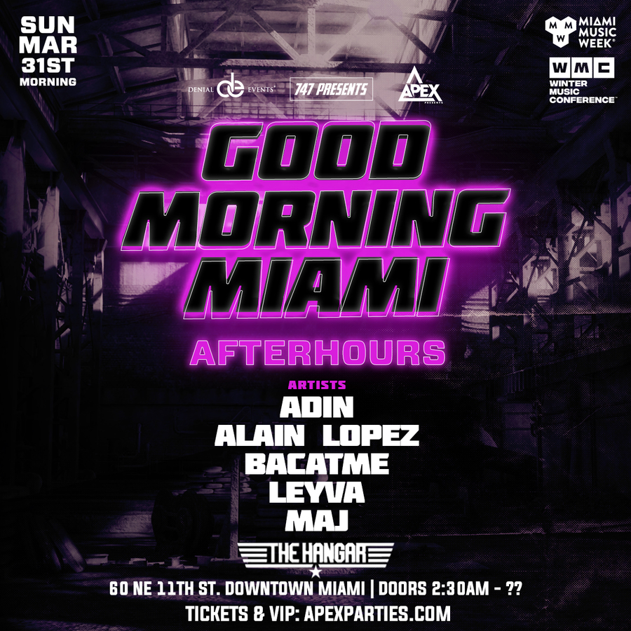 Good Morning Miami | Afterhours Image