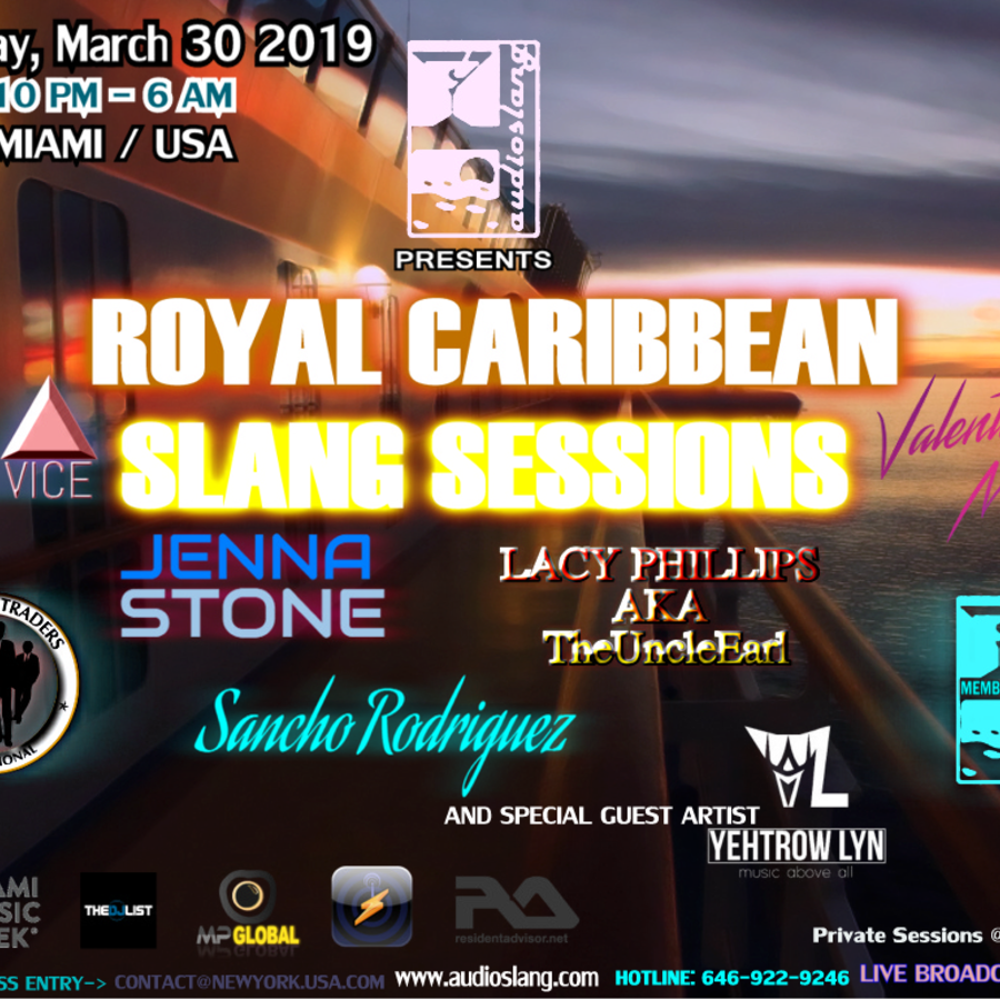 AudioSlang presents The Royal Caribbean Slang Sessions Image