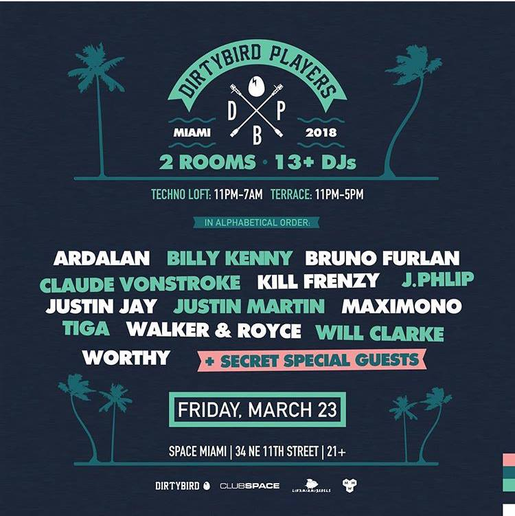 EDMTunes Miami Music Week Guide 2018: Friday March 23