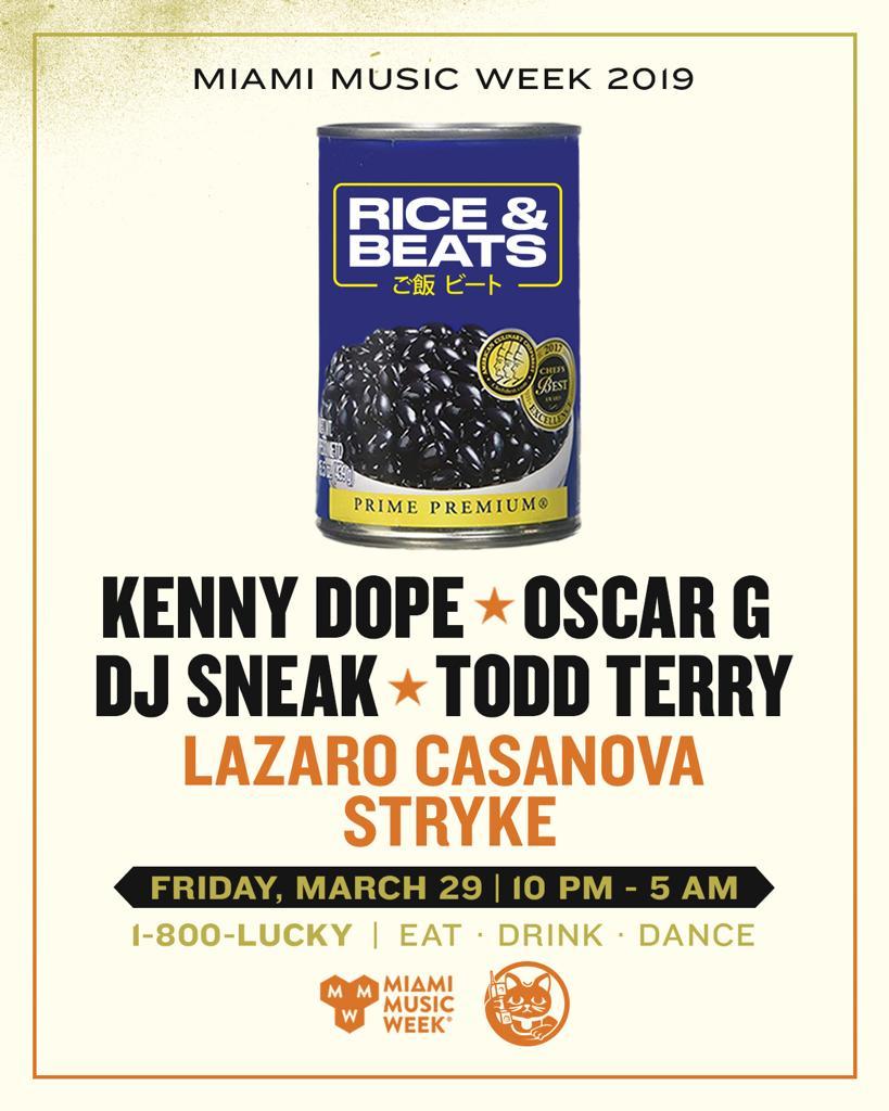 Rice & Beats Image