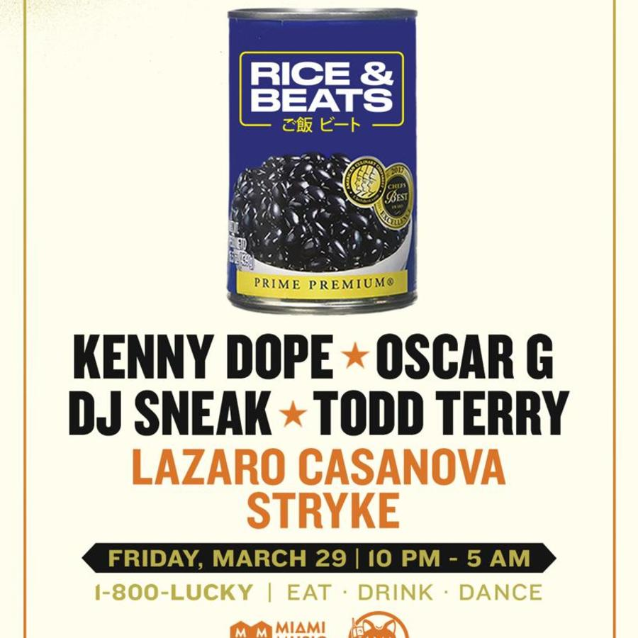 Rice & Beats Image