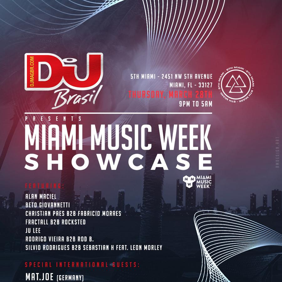 DJ Mag Brasil | Miami Music Week Showcase Image