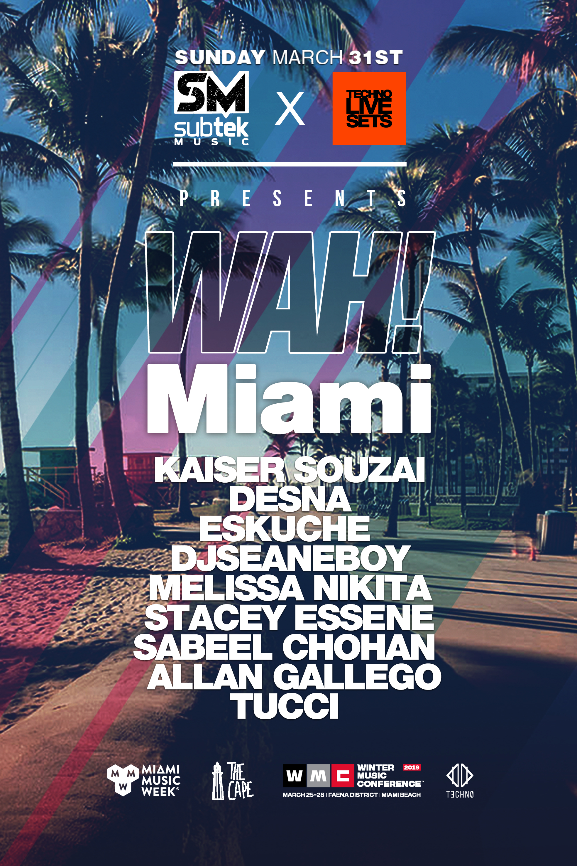 WAH! by Subtek & Techno Live Sets Image