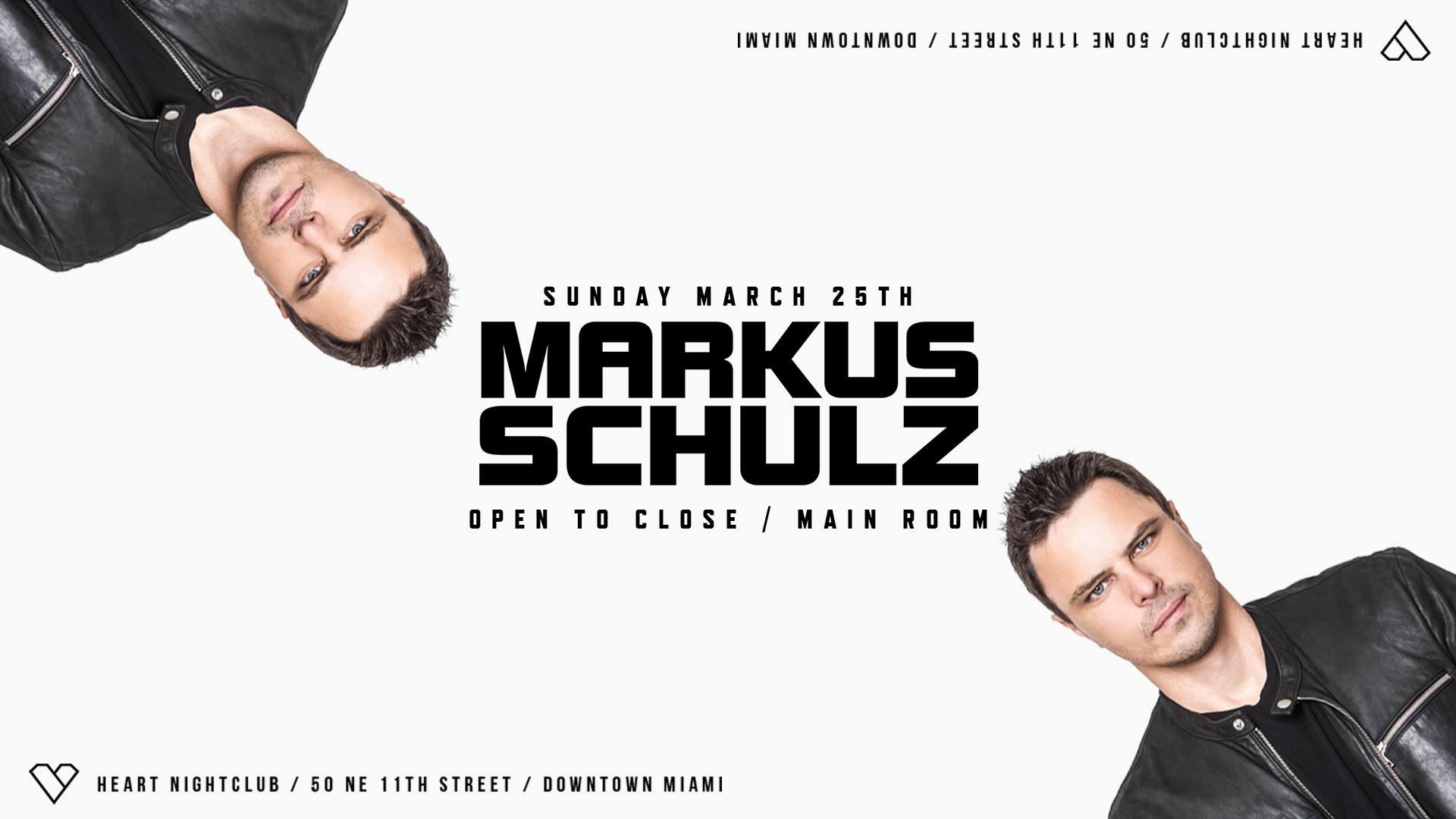 Markus Schulz Open To Close - Main Room Marathon Image