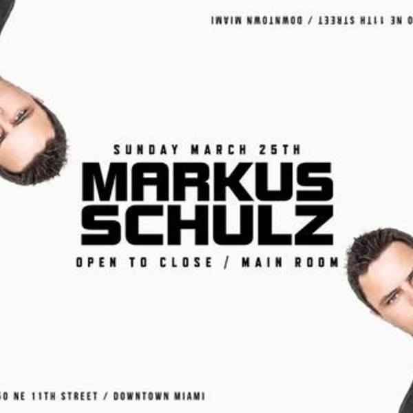 Markus Schulz Open To Close - Main Room Marathon Image