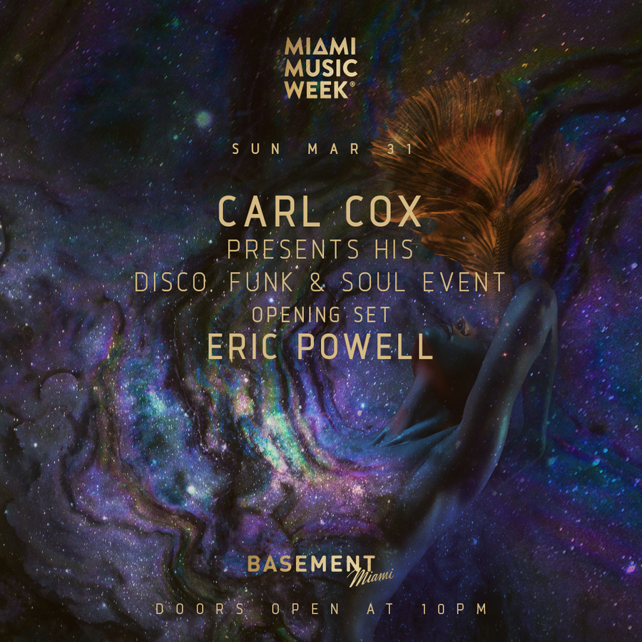 Carl Cox Presents His Disco, Funk & Soul Event Image