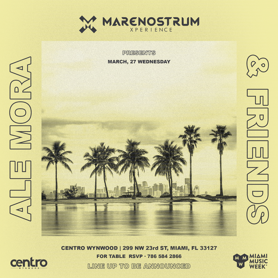 Marenostrum Xperience presents: Ale Mora & Friends Image