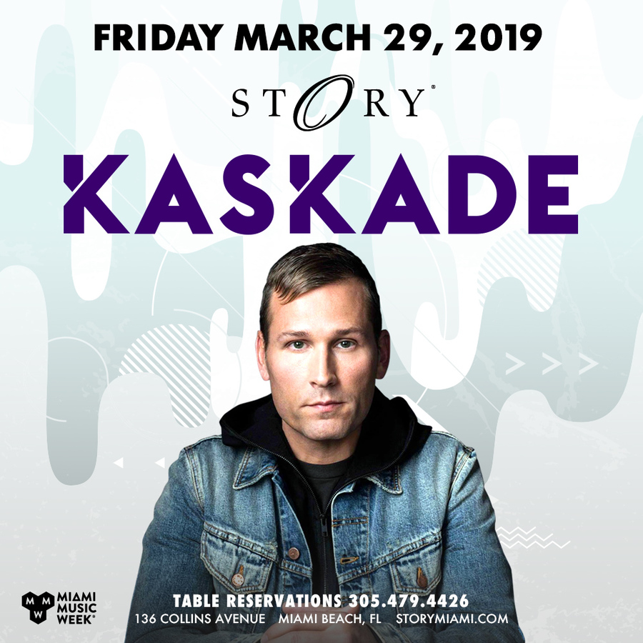 Kaskade STORY - Miami Music Week - Fri. March 29th Image
