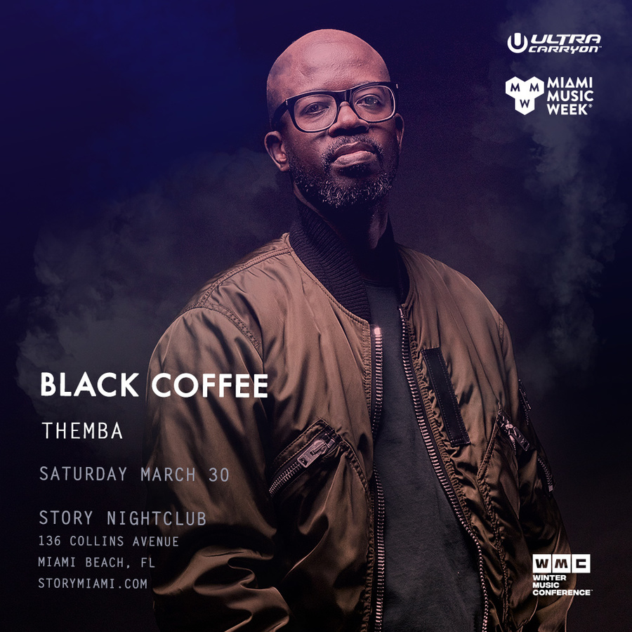 Black Coffee STORY - Miami Music Week - Sat. March 30th Image
