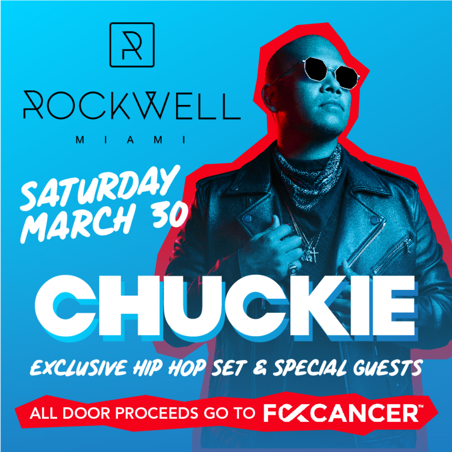Chuckie Exclusive Hip Hop Set Benefiting F*** Cancer Image