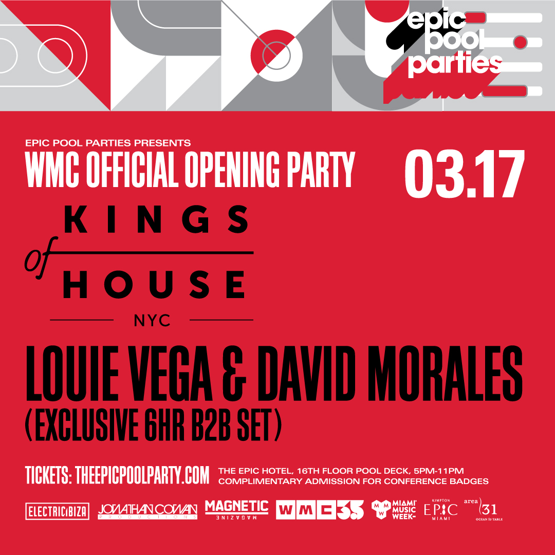 Kings Of House - WMC Opening Party at Epic Hotel Miami Image