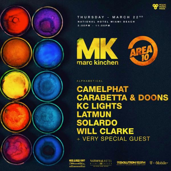 MK presents AREA 10 Image