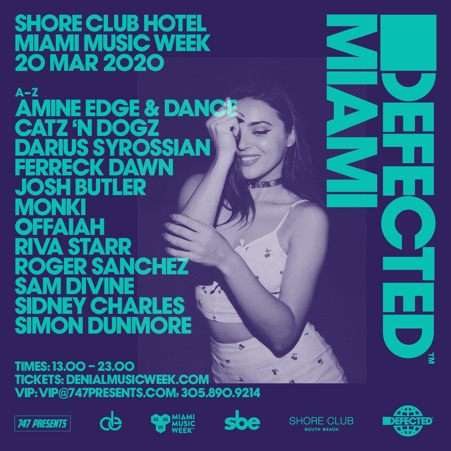 Defected Records Pool Party Image