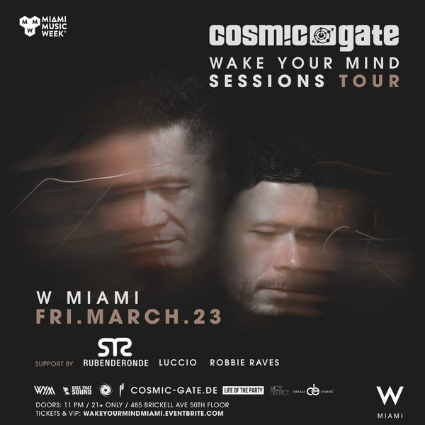 Cosmic Gate - Wake Your Mind Sessions - Miami  Image