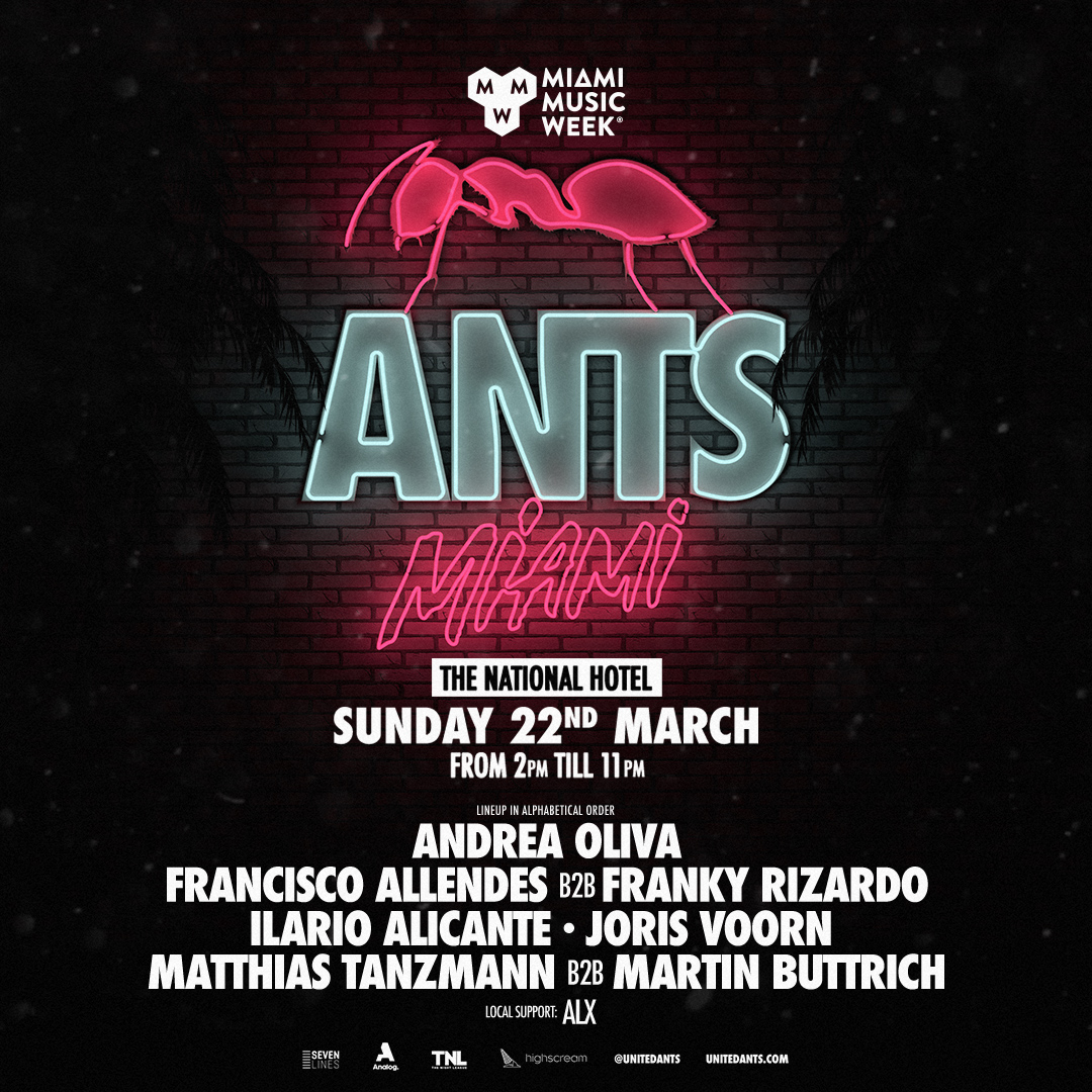 ANTS - Miami Music Week (Closing Pool Party) Image