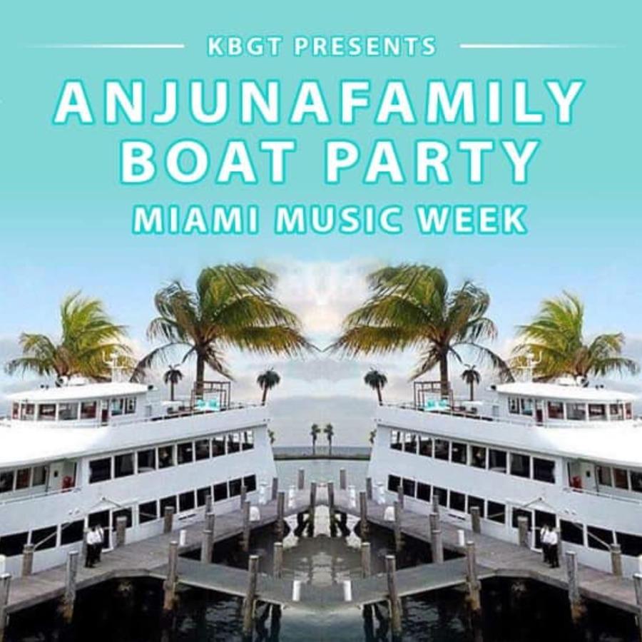 KBGT Anjunafamily Boat Party Image