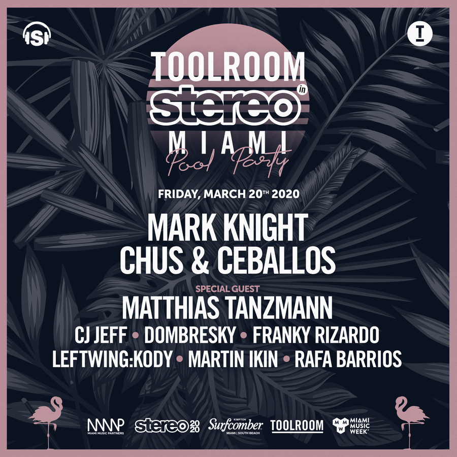 Toolroom In Stereo Miami Pool Party Image