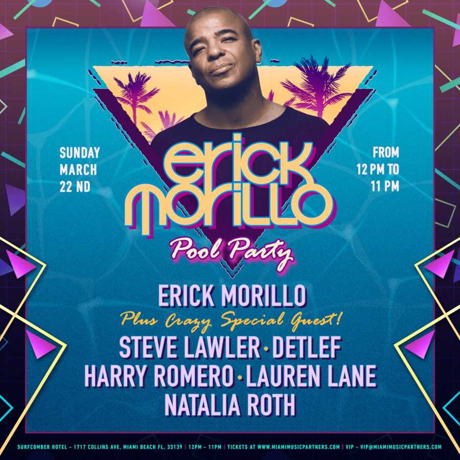 Erick Morillo Pool Party Image