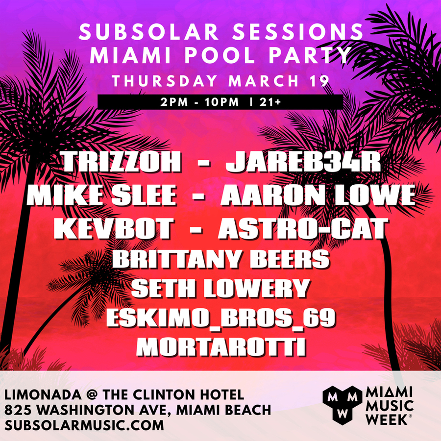 Subsolar Sessions 2020 Pool Party Image