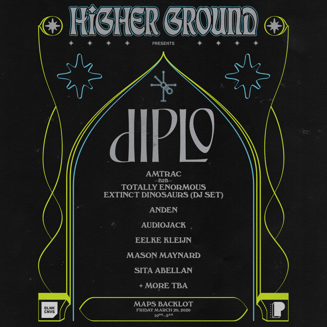 Diplo Presents Higher Ground Miami 2020 Image