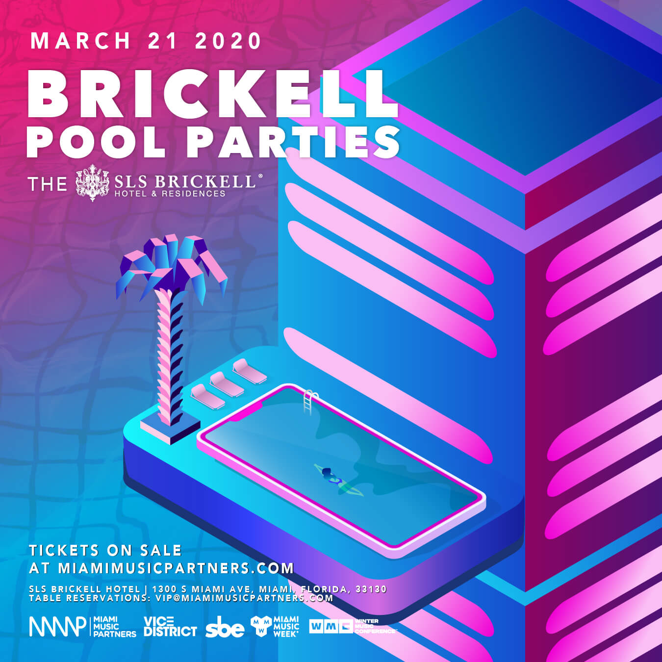 Brickell Pool Parties (Day 3) Flyer