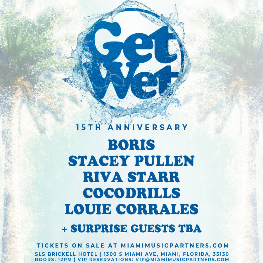 GET WET 15th Anniversary Pool Party Image