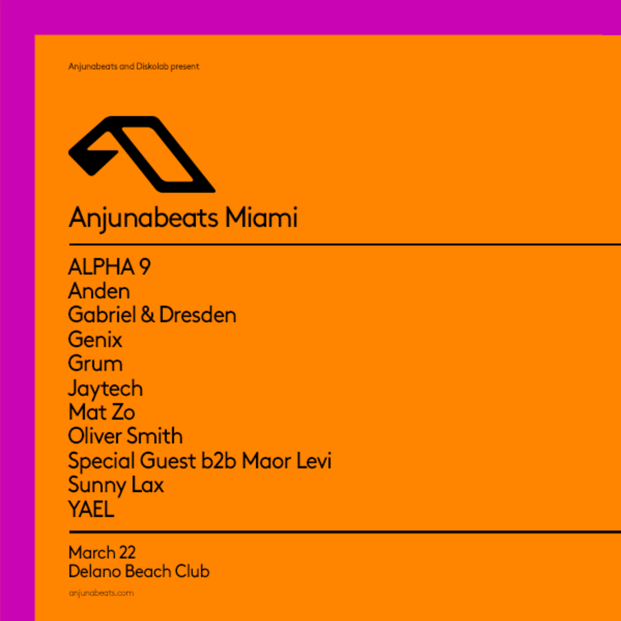 Anjunabeats Pool Party Image