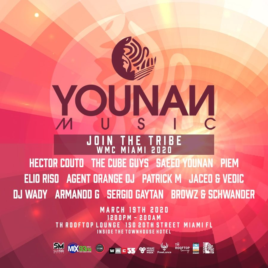 YOUNAN MUSIC JOIN THE TRIBE Image