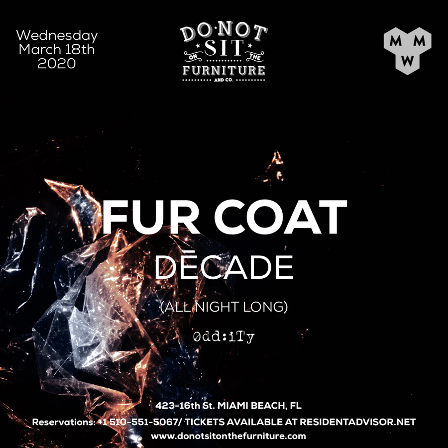 Fur Coat -Decade [All Night Long] [Miami Music Week] Image