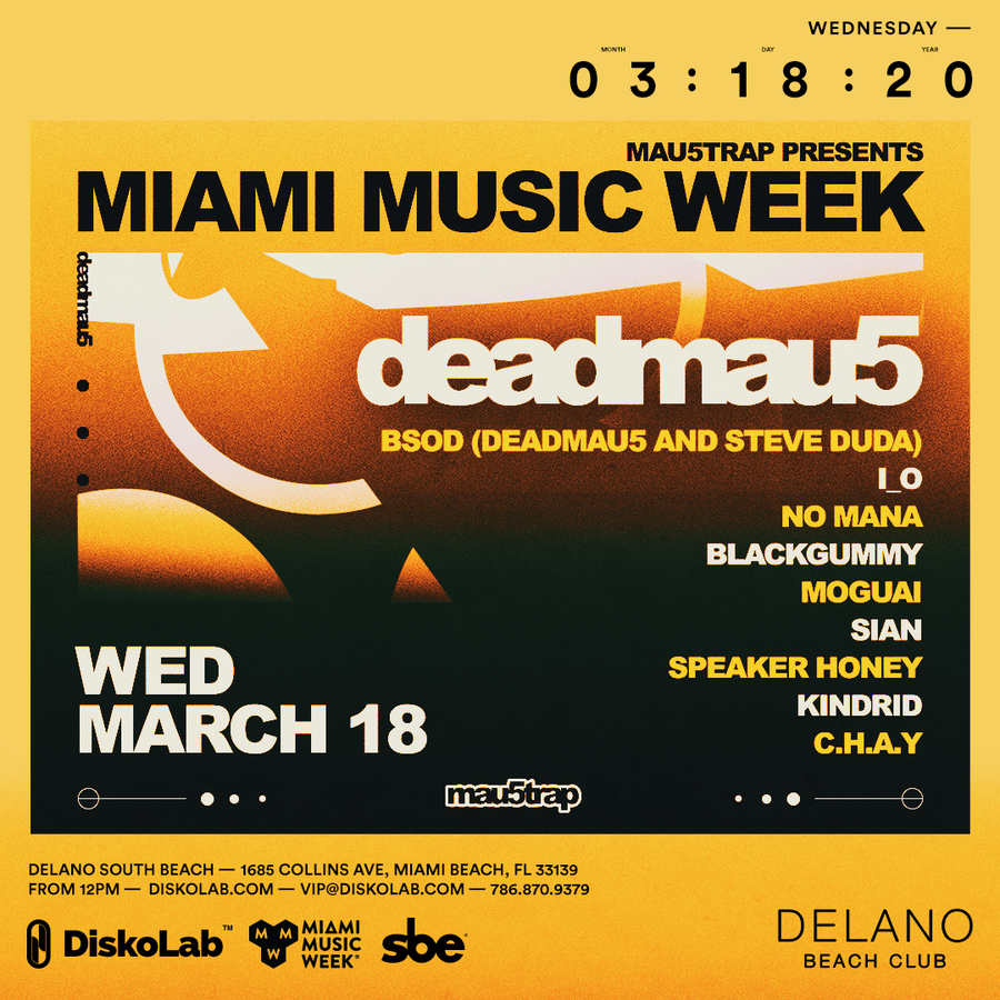 Mau5trap Pool Party w/ Deadmau5 + Special Guests Image