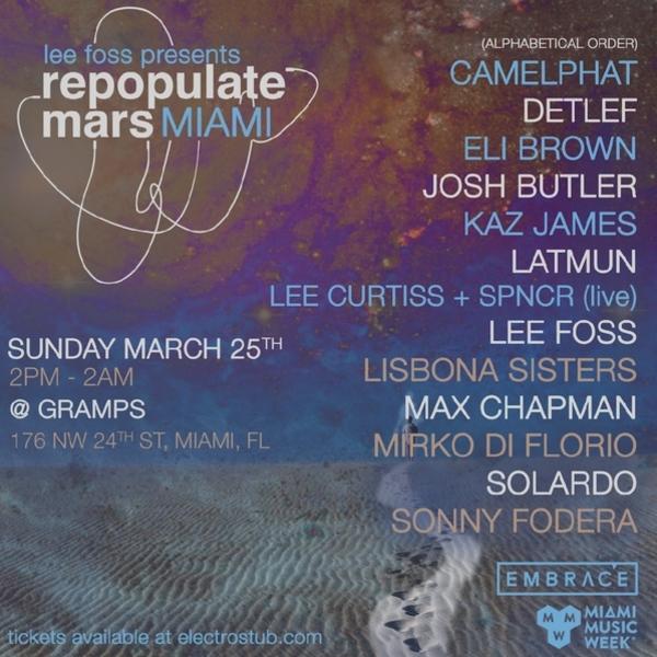 Repopulate Mars - Miami 2018 Image
