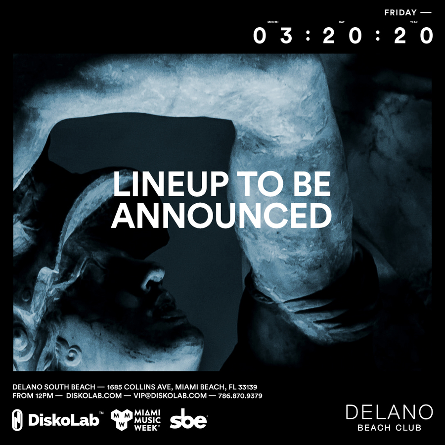 Friday March 20 at Delano Beach Club l MMW 2020 Image
